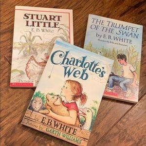 NWT!  E.B. White Book Collection (3 Books)